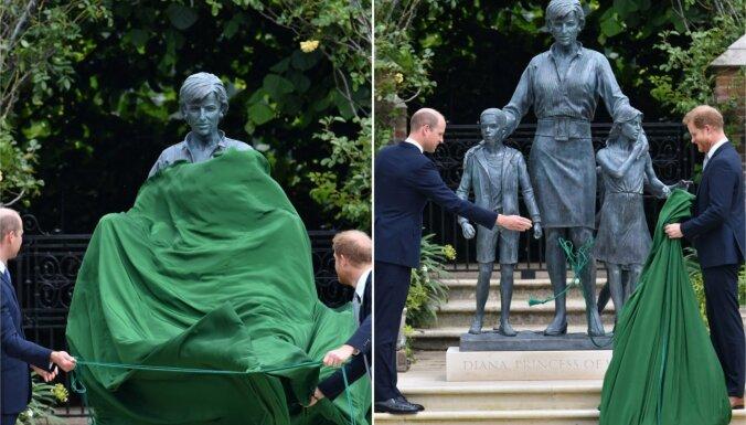 ФОТО: Принц Чарльз не пришел на открытие памятника принцессе Диане в Лондоне