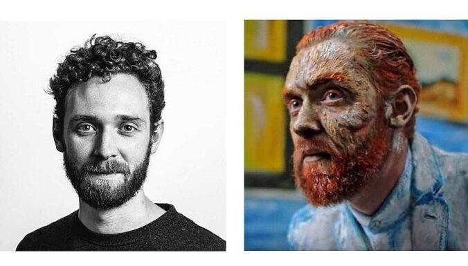 ФОТО. Как оживить картину и превратить мужчину в Ван Гога