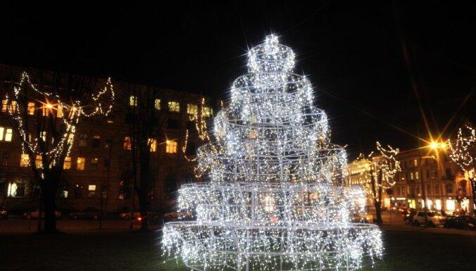Ригу украсят к Рождеству на 115 000 латов