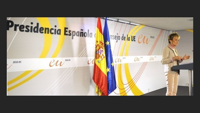 Spānija ES prezidentūras laikā pievērsīsies Kubai un ekonomikai