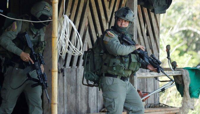 Kolumbijā aizturēti valsts destabilizēšanā apsūdzēti venecuēlieši