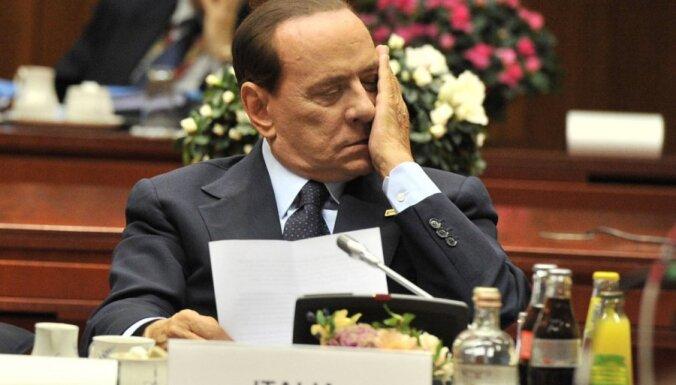Италия: СМИ пестрят слухами о скорой отставке Берлускони