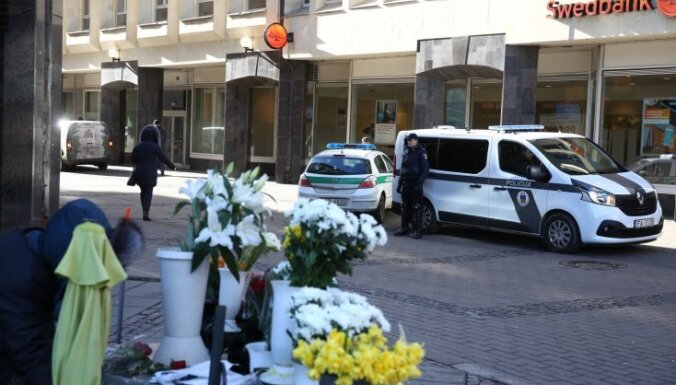 Foto: 16. marts Rīgas ielās