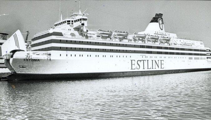 """Глава экспедиции Курм обдумывал поднятие рампы парома """"Эстония"""""""