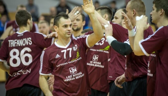 Latvijas handbola izlasei pēdējā EČ kvalifikācijas spēlē nepalīdzēs vairāki līderi