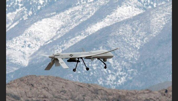 Bezpilota lidaparāta triecienā Pakistānā nogalināti četri kaujinieki