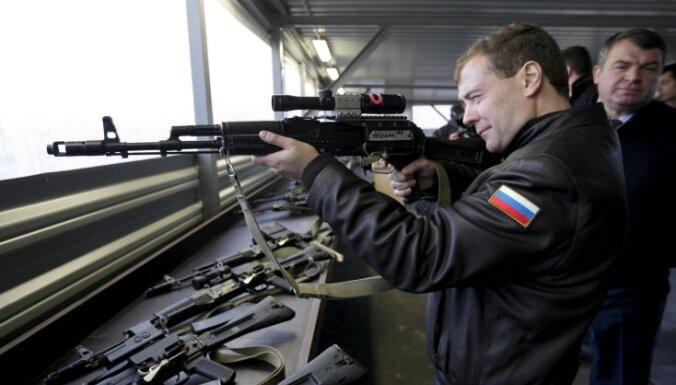 Медведев: Россия может отказаться от разоружения