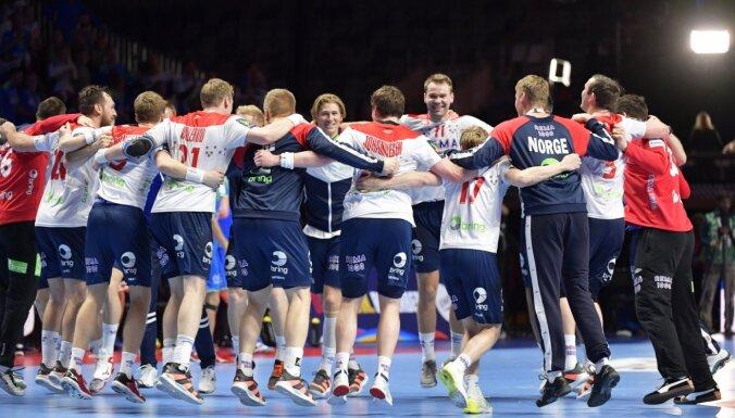 Norvēģijas handbolisti izcīna Eiropas čempionāta bronzu