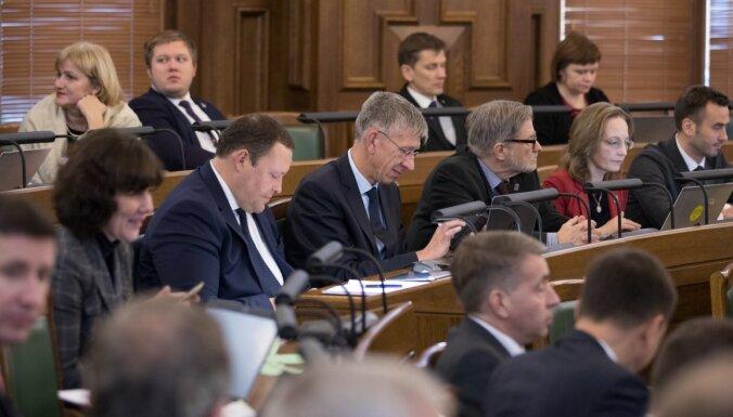 Pēc misēkļa atzīšanas Saeima konceptuāli atbalsta domes termiņa pagarināšanu