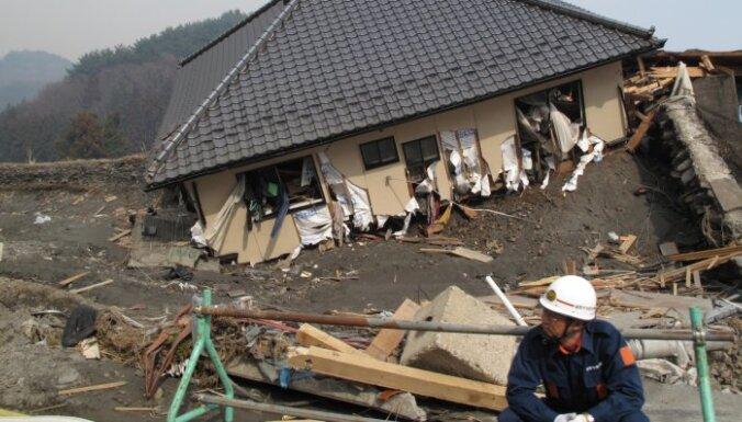 У берегов Японии вновь произошло сильное землетрясение