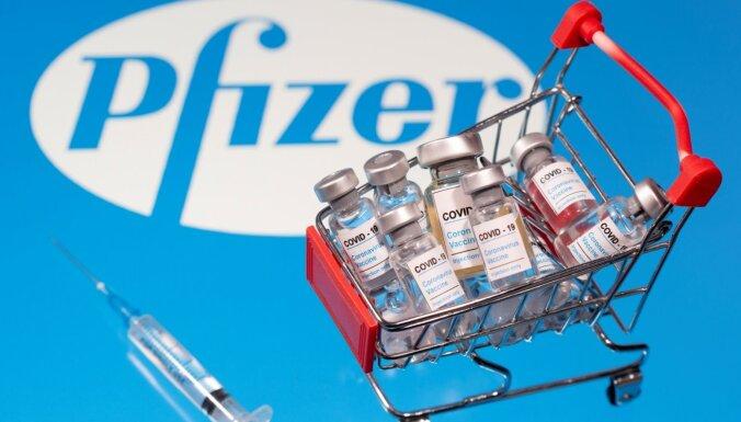 Латвия приобретет 1,4 миллиона дополнительных доз вакцин Pfizer (дополнено)
