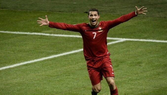 Portugāle pārbaudes spēlē uzveic FIFA ranga līderi Beļģiju