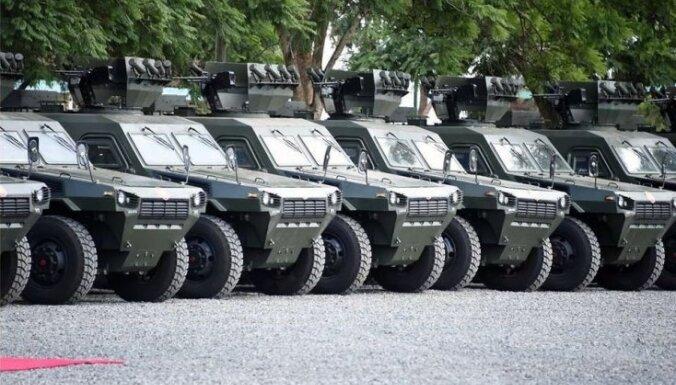 Kenija policijai iepērk ķīniešu bruņuauto 'Norinco VN4'