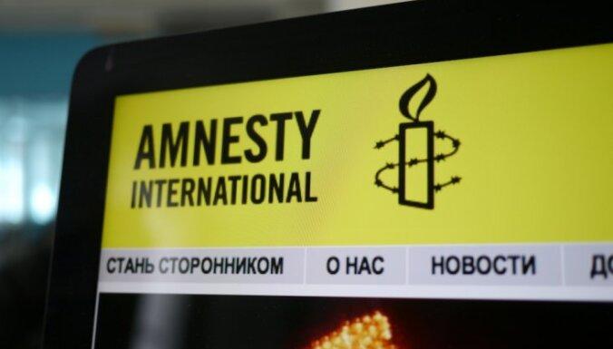 'Amnesty International' kritizē Latviju nepilsoņu jautājumā