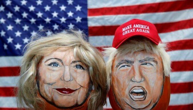 Каждый второй житель Латвии отдал бы свой голос за Хиллари Клинтон