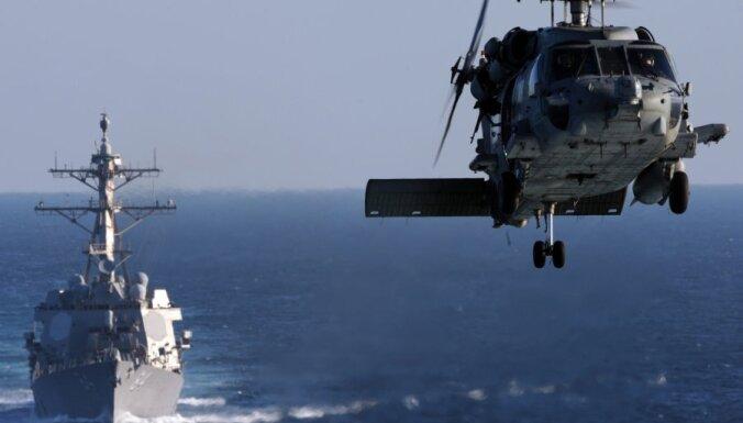 Американский эсминец прибыл в Средиземное море