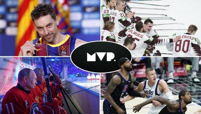 'MVP': Porziņģa un Dončiča aritmija, Irbes 'X stunda' un hokeja izlases lielā iespēja