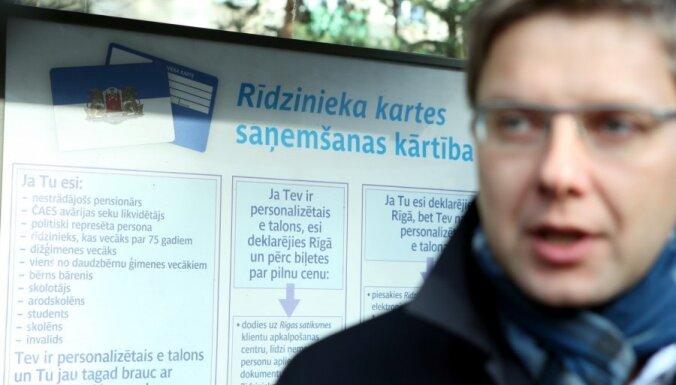 'Bloķēs' lētākas biļetes rīdziniekiem; Ušakovs dusmīgs par 'kara pieteikumu'