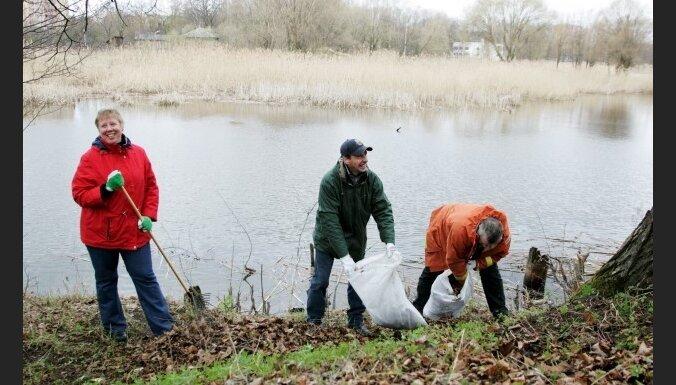 Итоги Большого субботника: из Риги вывезли 210 тонн мусора
