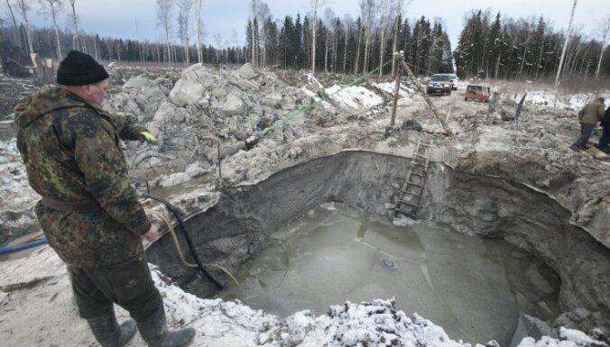 ФОТО: в Эстонии в болоте нашли советский бомбардировщик