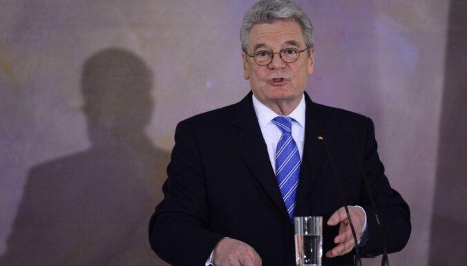 Президент Германии решил не ехать на Игры в Сочи