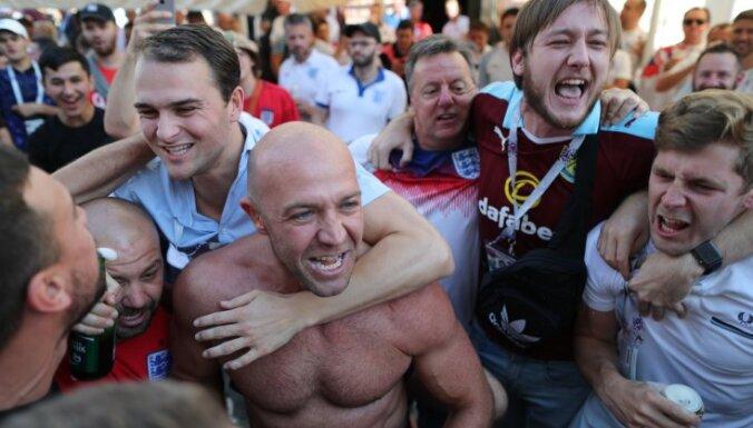 """Английские фанаты устроили беспорядки: напали на итальянцев и ворвались на """"Уэмбли"""""""