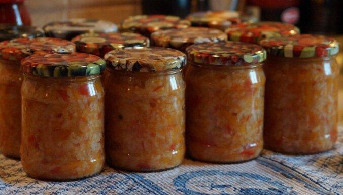 Tomātu un rīsu zupas sagatave ziemai bez pasterizēšanas