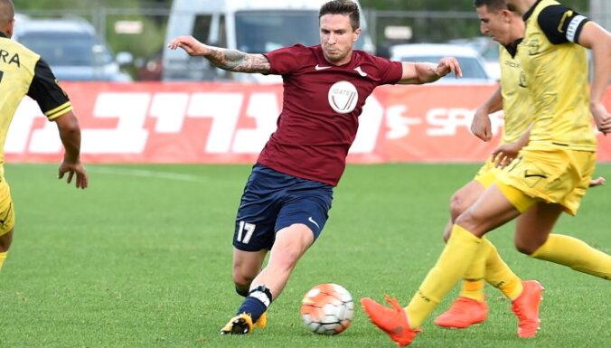 'Spartaks' un 'Jelgava' spēlē neizšķirti futbola virslīgas mačā; 'Ventspils' uzvar