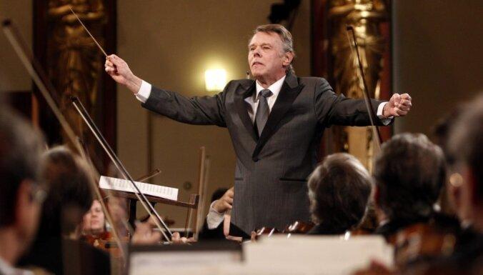 Sanktpēterburgā atvadīsies no diriģenta Marisa Jansona