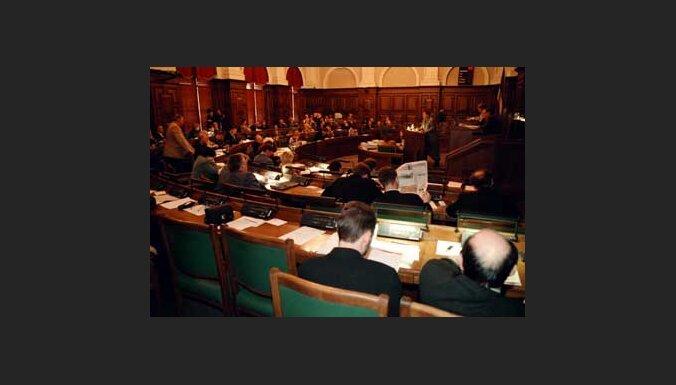 Saeima noraida PCTVL priekšlikumu saglabāt īres griestus