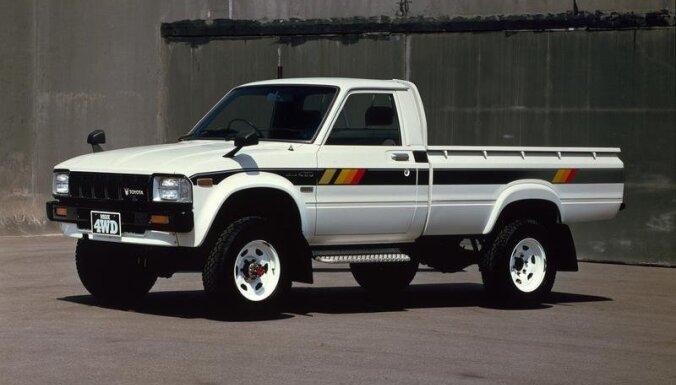'Toyota Hilux' vēsture – no pirmsākumiem līdz mūsdienām