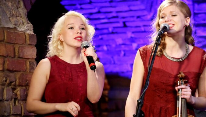Foto: 'Kaļķu vārtos' atklāta jubilejas festivāla 'Bildes' muzikālā programma