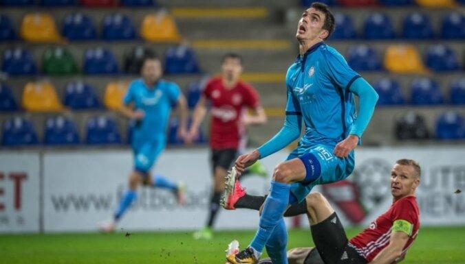 'Riga' futbolisti izcīna piekto vietu 'Virslīgas kausā'