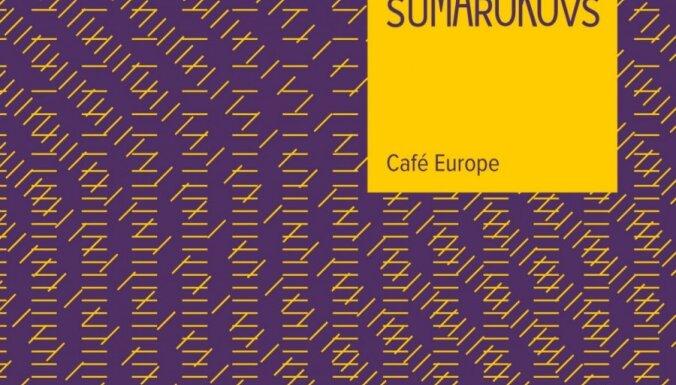 Dmitrijs Sumarokovs divvalodu grāmatā 'Café Europe' uzskicējis Rīgu