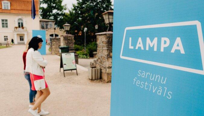 Sarunu festivāls 'Lampa' plānots augustā; virstēma būs cieņa