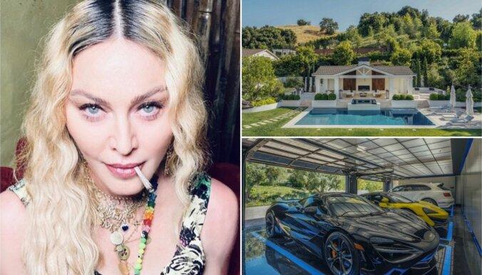 ФОТО: Мадонна купила роскошный особняк с 9 спальнями и 11 ванными комнатами