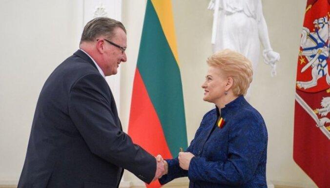 Nacionālā vēstures muzeja direktors Arnis Radiņš saņēmis Lietuvas valsts apbalvojumu