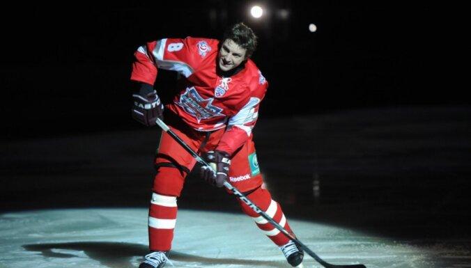 KHL Zvaigžņu spēle – Ozoliņa komanda pret Fjodorova komandu