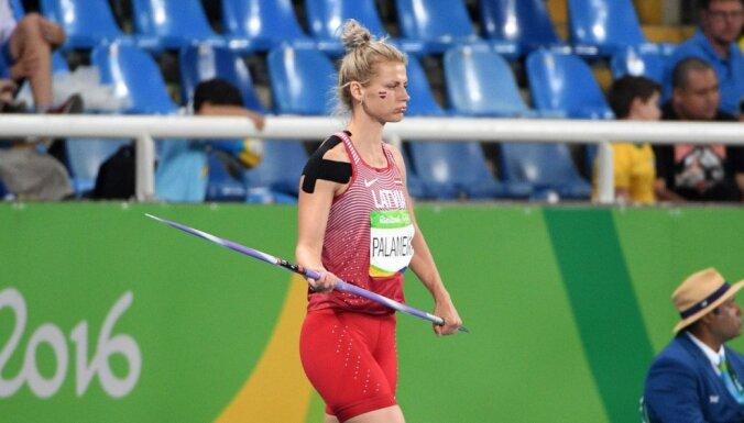 Palameika un Štrobinders kļūst par Latvijas čempioniem šķēpmešanā