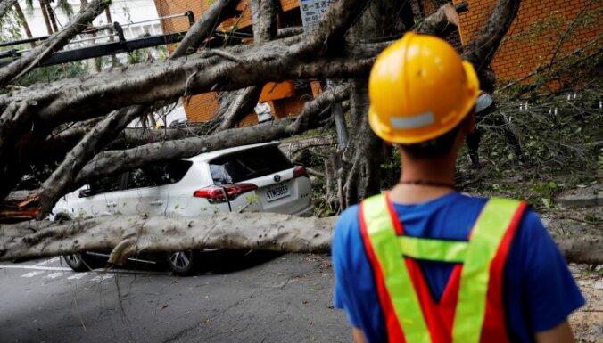 Taivānu satricinājusi 6,1 magnitūdu stipra zemestrīce