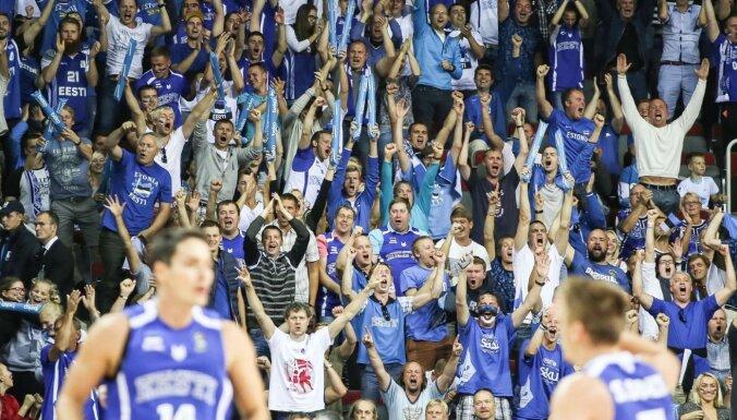 Igaunijas basketbola asociācija lūdz atļauju Baltijas kausā pulcēt 1500 skatītājus