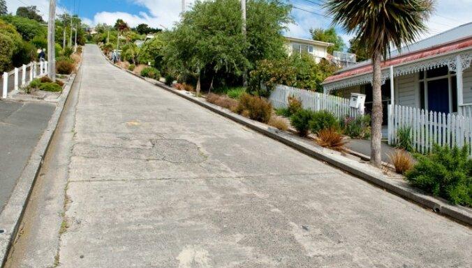 Болдуин-стрит — самая крутая улица в мире, Новая Зеландия ... | 385x676