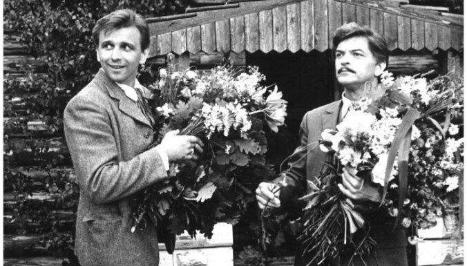 Vēsturiski foto: 'Skroderdienas Silmačos' Druvienā pirms 30 gadiem