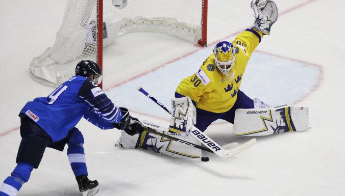 Финляндия в овертайме дожала Швецию и отправила чемпионов мира домой