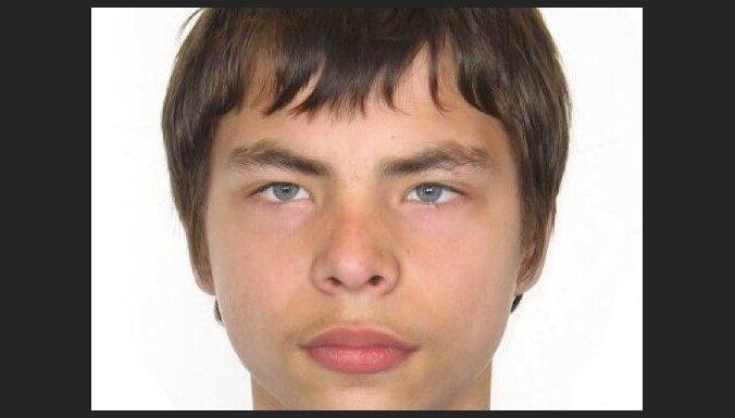Policija lūdz palīdzību pazuduša jaunieša meklēšanā