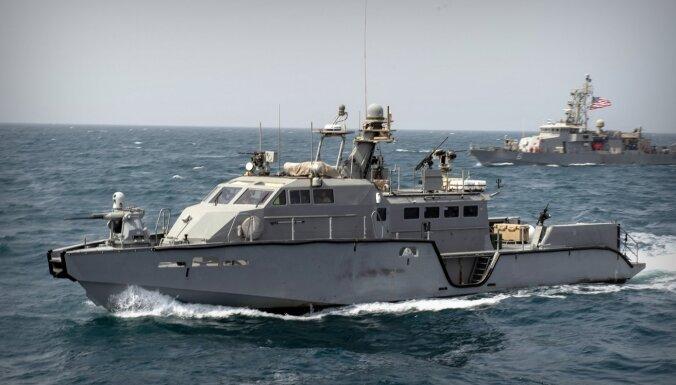 Kerčas incidenta dēļ ASV ar 'Mark VI' patruļlaivām stiprina Ukrainas jūras spēkus