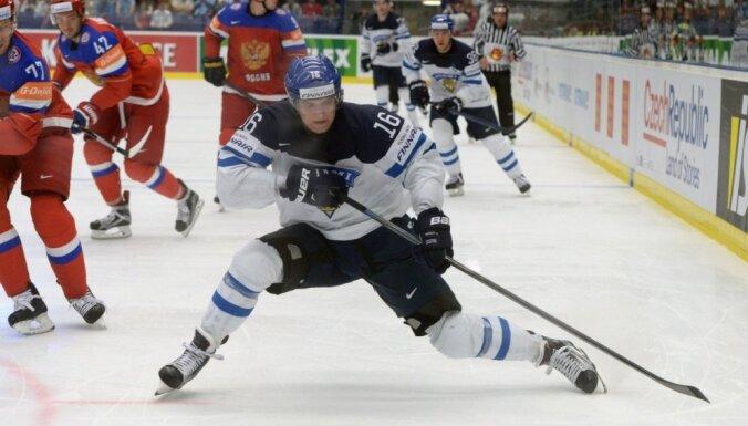 Somija un Krievija pirmās atklāj izlašu sastāvus gaidāmajam hokeja Pasaules kausam