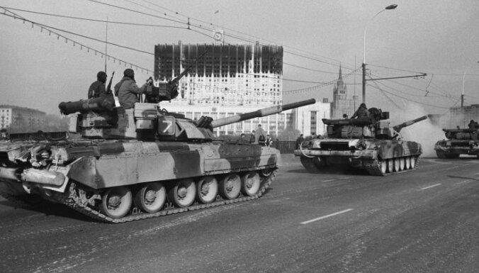 """""""Черный октябрь"""": 20 лет штурму Белого дома в Москве"""