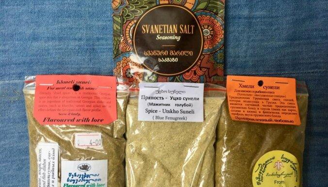 Čurčhela, čača, tēja, Svanetijas sāls – īsais ceļojums caur Gruzijas garšu