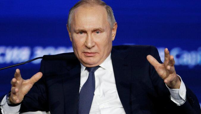 Путин назвал российскую угрозу выдумкой и чушью